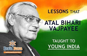 Lessons that Atal Bihari Vajpayee taught to Young India