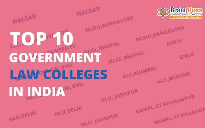 Top 10 Government Law Colleges in India