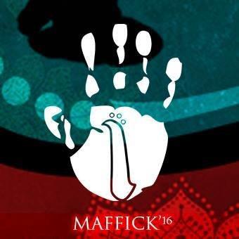 """""""MAFFICK""""  logo"""