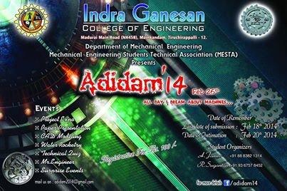 ADIDAM'14 logo