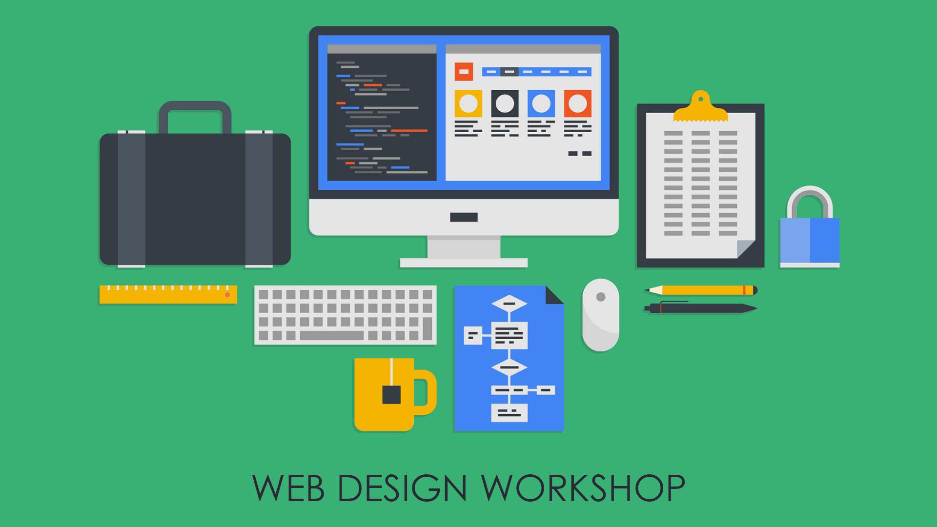 WEB DESIGNING WORKSHOP logo