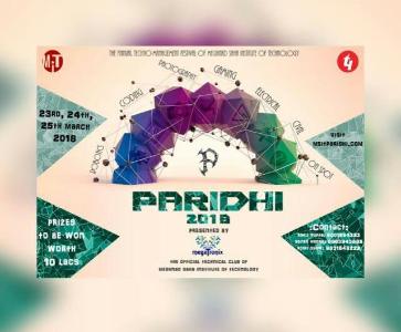Paridhi 2018 logo