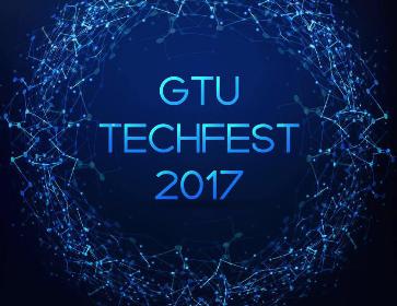GTU Central Techfest logo