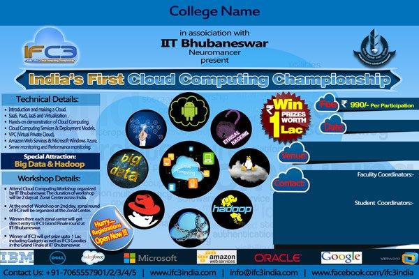 India's First Cloud Computing Championship logo