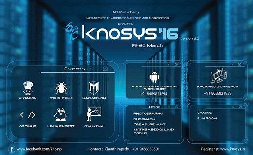 Knosys'16 logo