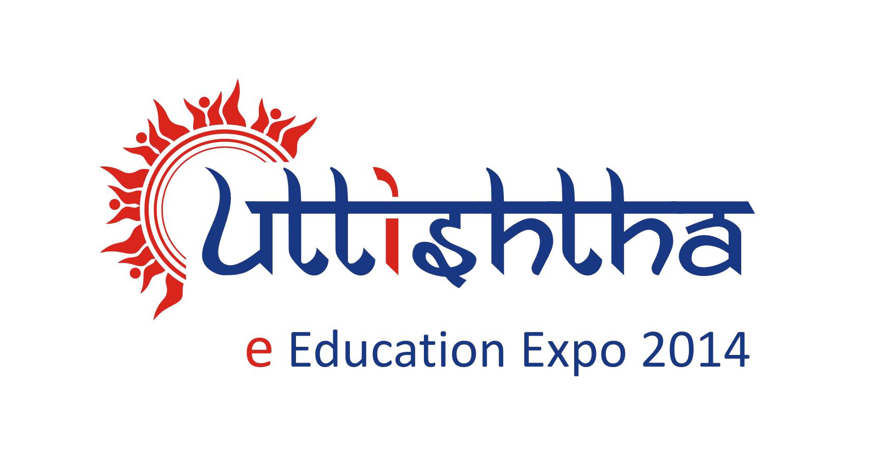 Uttishtha e-Education Expo 2014 logo