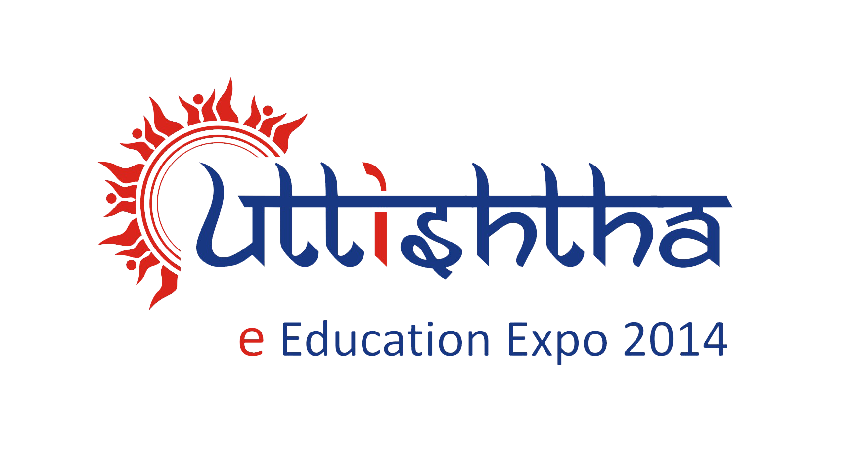 Uttishtha e-Education Expo 2014 logo