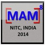 MAM8 2014 logo