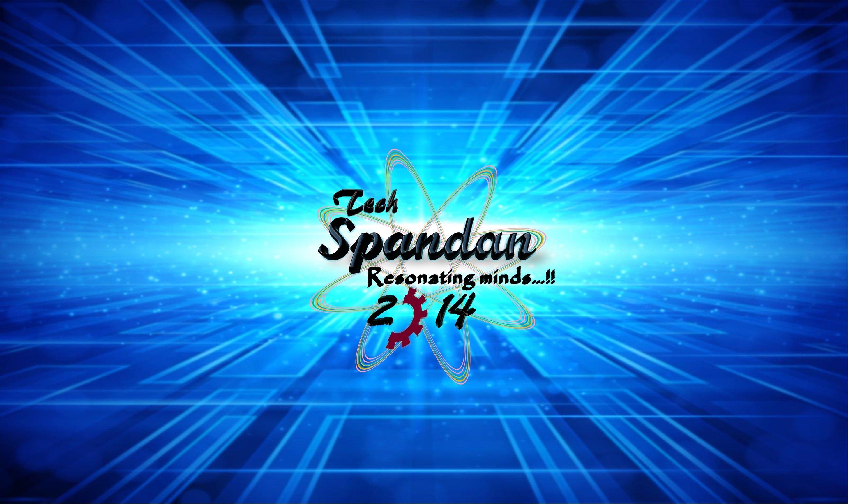 SPANDAN,14 logo