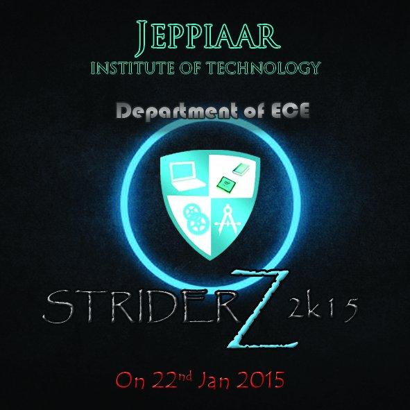 STRIDERZ 2K15 logo
