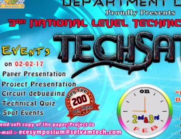 TECHSAT'17 logo