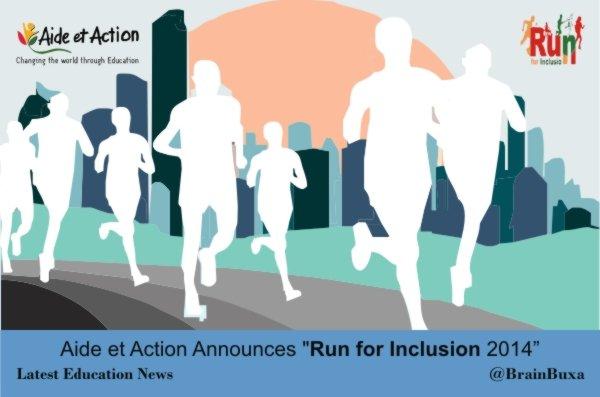 """Aide et Action Announces """"Run for Inclusion 2014"""""""
