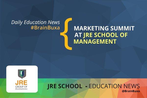 Marketing summit at JRE School of Management