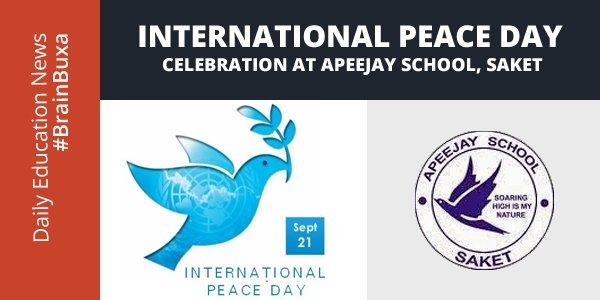 Image of International Peace Day Celebration At International Peace Day, Saket   Education News Photo