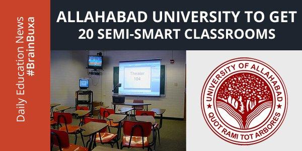 Allahabad University to get 20 semi-smart classrooms