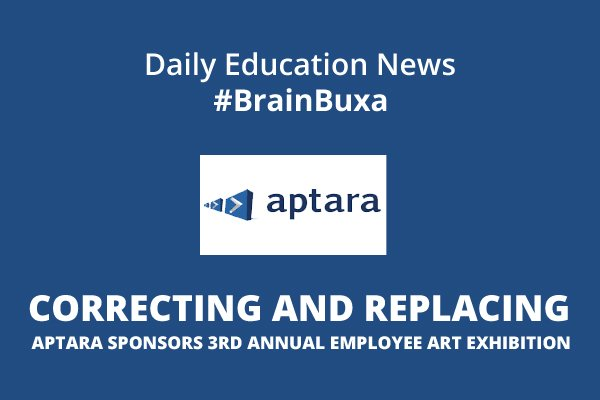Image of CORRECTING and REPLACING Aptara Sponsors 3rd Annual Employee Art Exhibition | Education News Photo