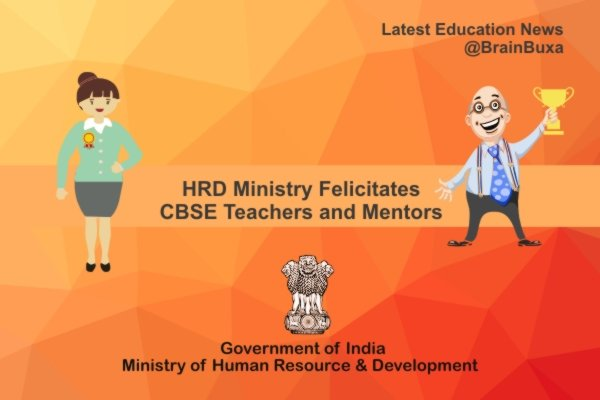 Image of HRD Ministry Felicitates CBSE Teachers and Mentors | Education News Photo