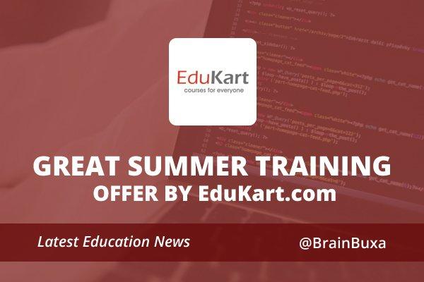Great Summer Training Offer by EduKart.com