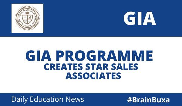 GIA Programme Creates Star Sales Associates