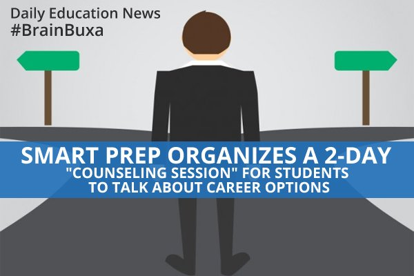 """Image of SmartPrep organizes a 2-Day """"Counseling Session"""" for students to talk about career options 