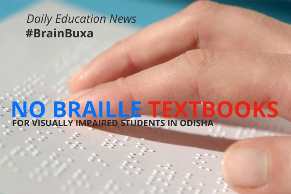 No braille textbooks for visually impaired students in Odisha