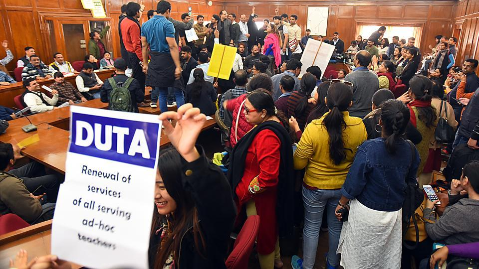 After DUTA strike, UGC may amend the teacher appointment regulations