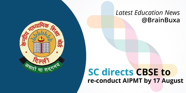 Image of SC directs CBSE to re-conduct AIPMT by 17 August | Education News Photo