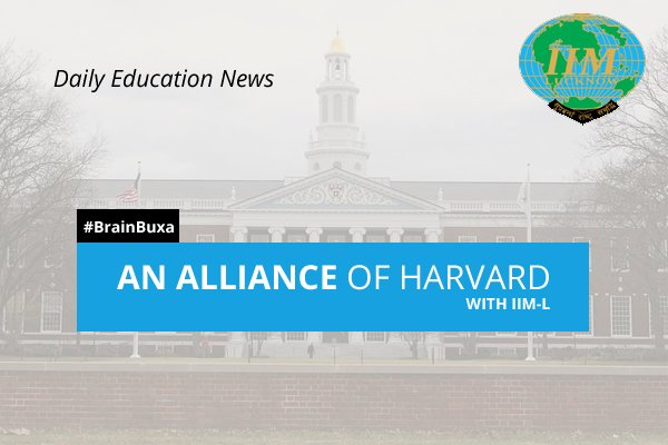 An Alliance of Harvard with IIM-L
