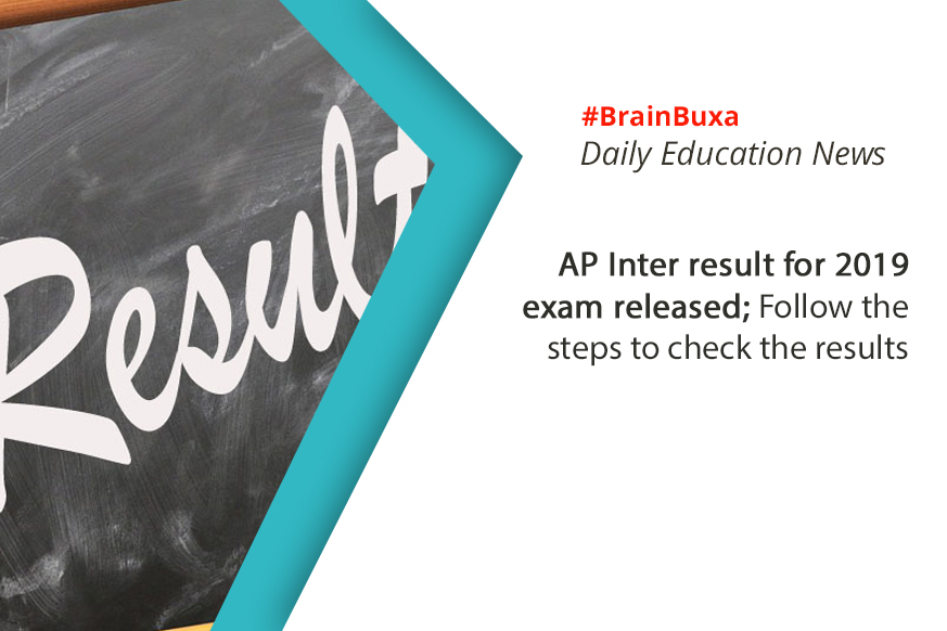 AP Inter result for 2019 exam released; Follow the steps to check the results