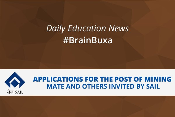 Image of Applications for the Post of Mining Mate and Others, Invited By SAIL | Education News Photo