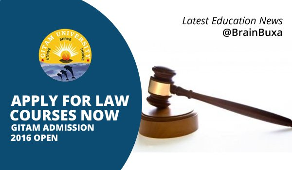 Image of Apply For Law Courses Now: GITAM Admission 2016 Open | Education News Photo