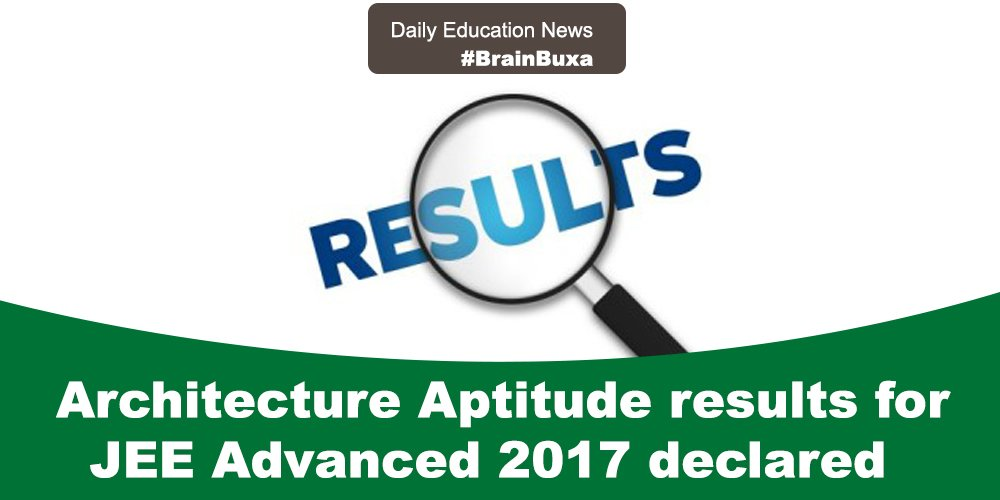 Image of Architecture Aptitude results for JEE Advanced 2017 declared | Education News Photo