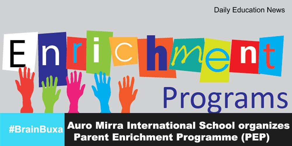Auro Mirra International School organizes Parent Enrichment Programme (PEP)