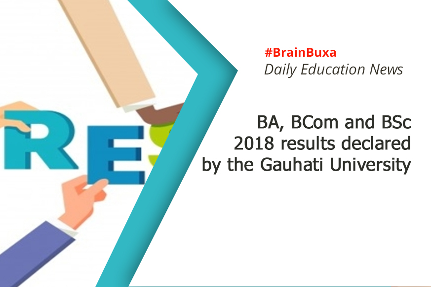 BA, BCom and BSc 2018 results declared by the Gauhati University