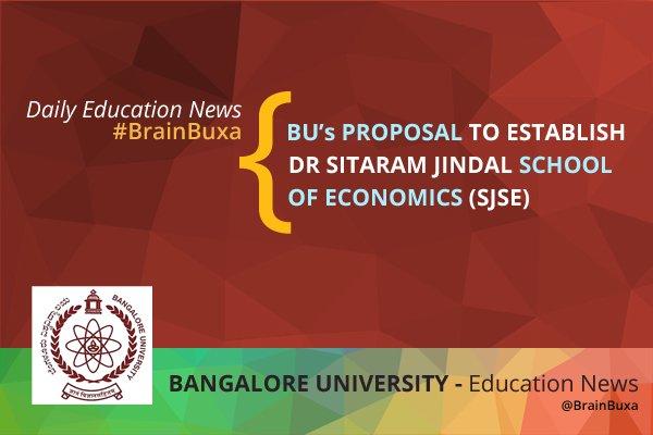 BU's proposal to establish Dr Sitaram Jindal School of Economics (SJSE)