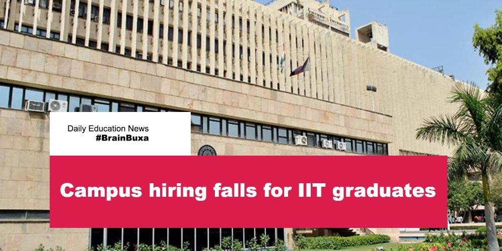 Campus hiring falls for IIT graduates