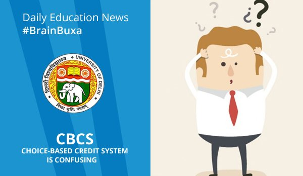 CBCS is confusing?
