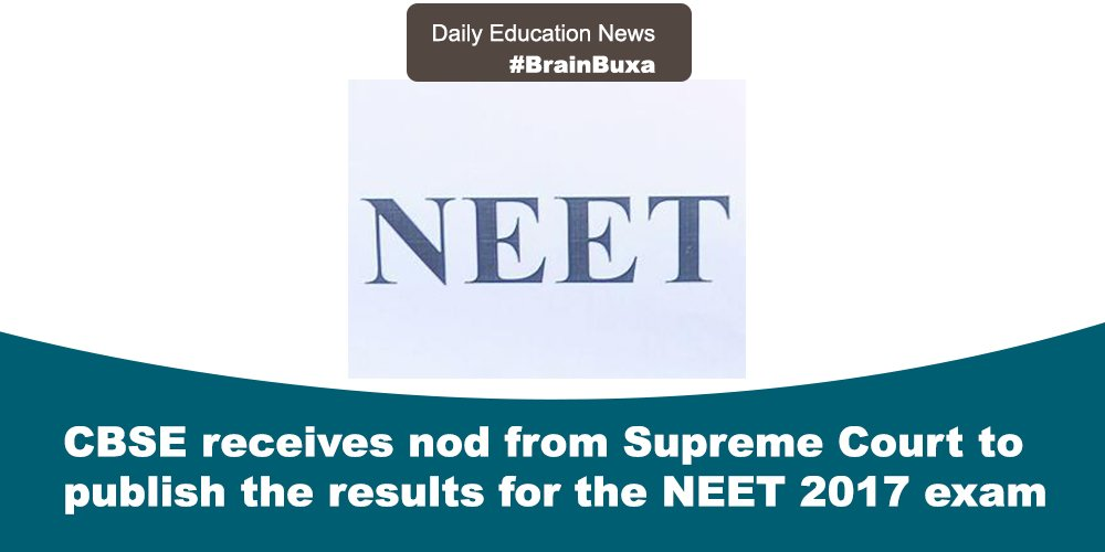Image of CBSE receives nod from Supreme Court to publish the results for the NEET 2017 exam | Education News Photo