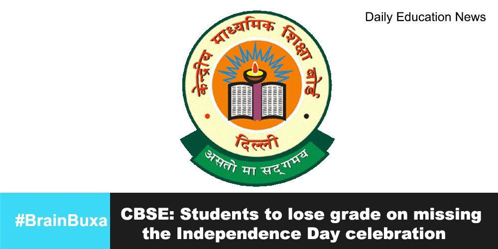 CBSE: Students to lose grade on missing the Independence Day celebration
