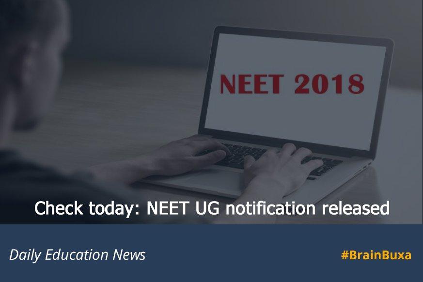 Check today: NEET UG notification released