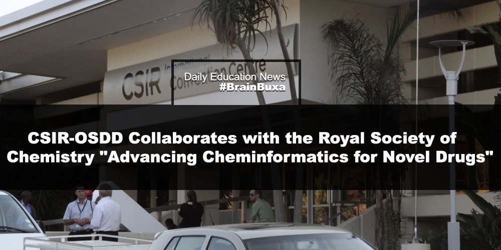 """Image of CSIR-OSDD Collaborates with the Royal Society of Chemistry   """"Advancing Cheminformatics for Novel Drugs""""   