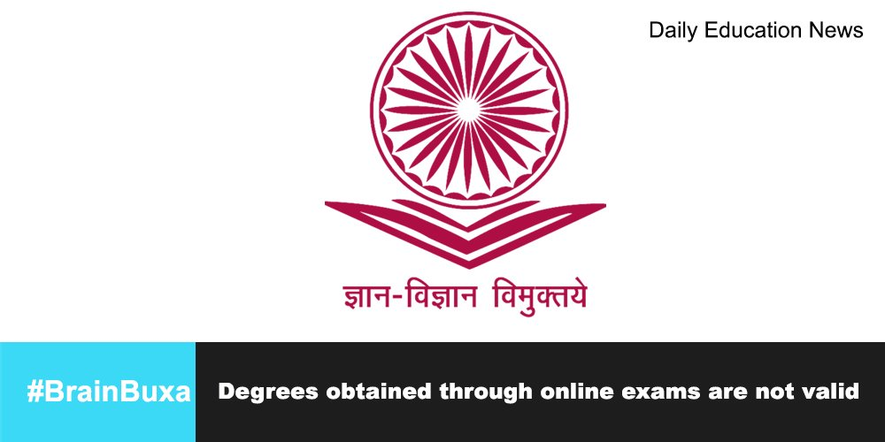 Image of Degrees obtained through online exams are not valid | Education News Photo