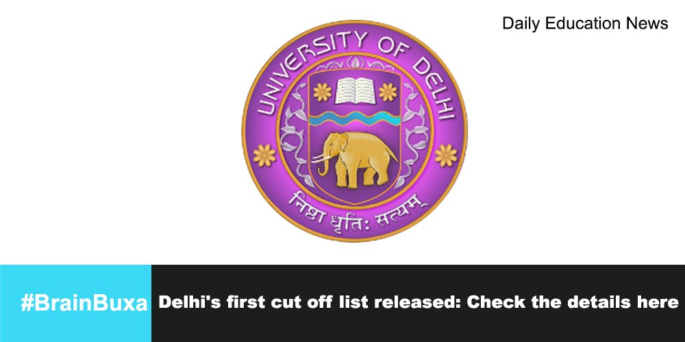 Image of Delhi's first cut off list released: Check the details here | Education News Photo