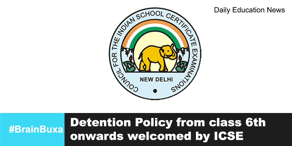 Image of Detention Policy from class 6th onwards welcomed by ICSE | Education News Photo