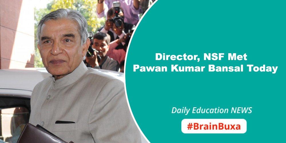 Director, NSF Met Pawan Kumar Bansal Today