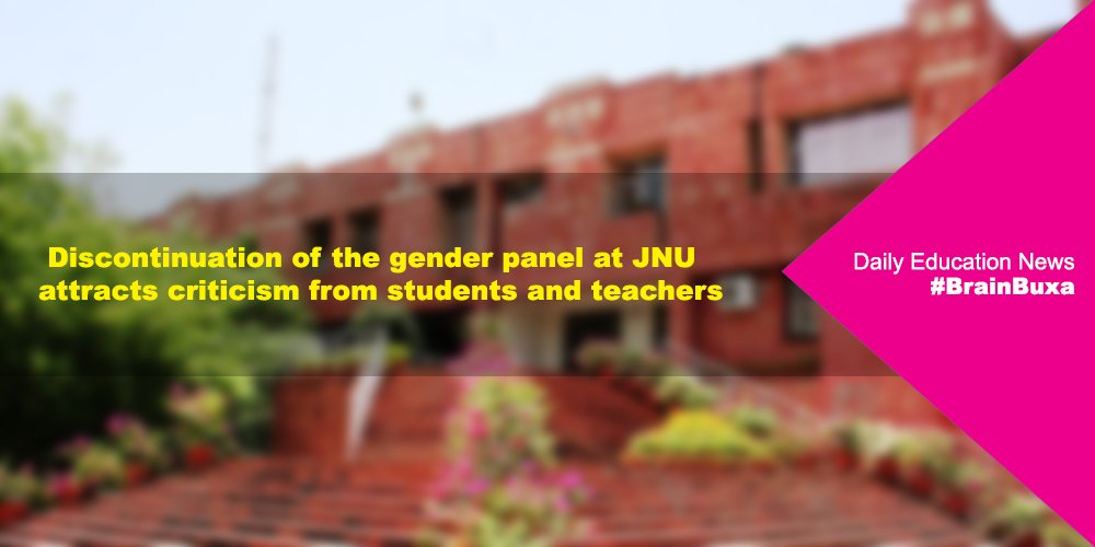Discontinuation of the gender panel at JNU attracts criticism from students and teachers
