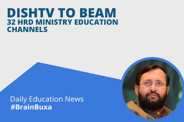 Image of DishTV to beam 32 HRD Ministry education channels | Education News Photo
