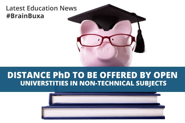 Image of Distance PhD to be offered by open universtities in non-technical subjects | Education News Photo