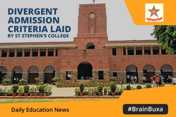 Image of Divergent admission criteria laid by St Stephen's college | Education News Photo