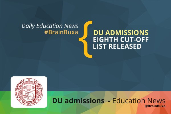 DU admissions: Eight cut-off list released